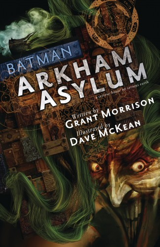 ABSOLUTE BATMAN ARKHAM ASYLUM 30TH ANNIVERSARY EDITION HARDCOVER