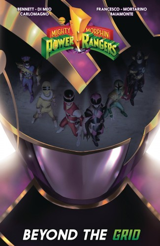 MIGHTY MORPHIN POWER RANGERS BEYOND THE GRID GRAPHIC NOVEL