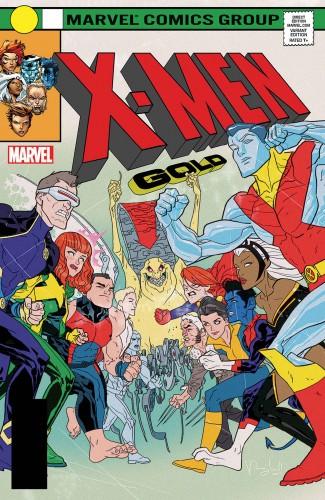 X-MEN GOLD #13 LEGACY CALDWELL LENTICULAR VARIANT