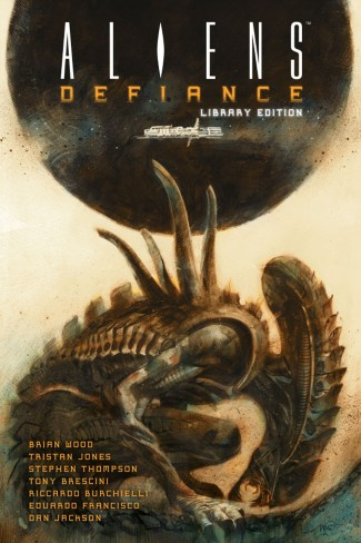 ALIENS DEFIANCE VOLUME 1 LIBRARY EDITION HARDCOVER
