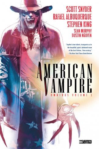 AMERICAN VAMPIRE VOLUME 1 OMNIBUS HARDCOVER