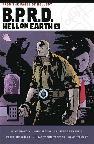 BPRD HELL ON EARTH VOLUME 5 HARDCOVER
