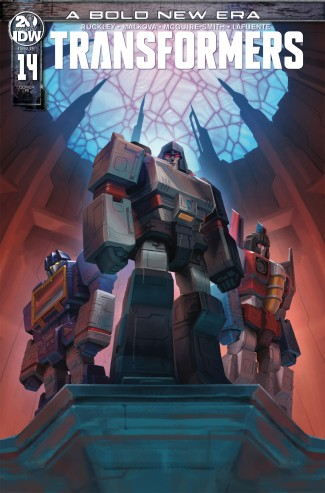 TRANSFORMERS #14 (2019 SERIES) 1 IN 10 INCENTIVE VARIANT
