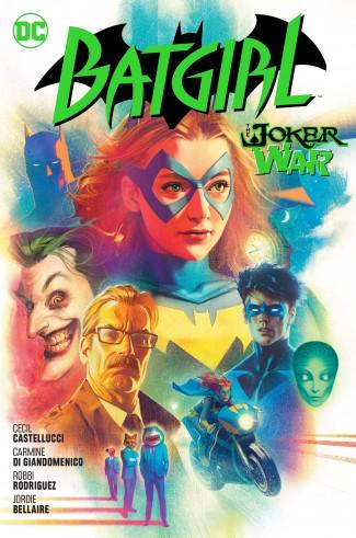 BATGIRL VOLUME 8 THE JOKER WAR HARDCOVER