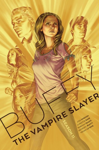 BUFFY THE VAMPIRE SLAYER SEASON 11 VOLUME 1 LIBRARY EDITION HARDCOVER