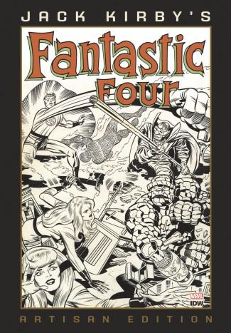 JACK KIRBY FANTASTIC FOUR ARTISAN EDITION HARDCOVER