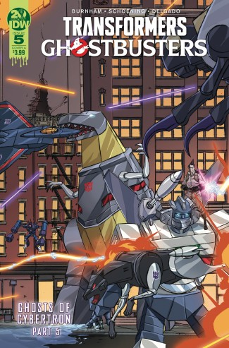 TRANSFORMERS GHOSTBUSTERS #5