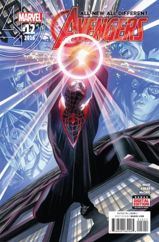 ALL NEW ALL DIFFERENT AVENGERS #12