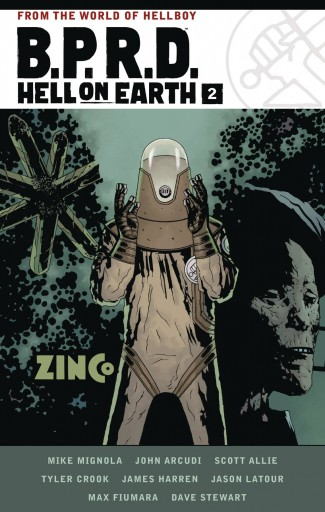 BPRD HELL ON EARTH VOLUME 2 GRAPHIC NOVEL