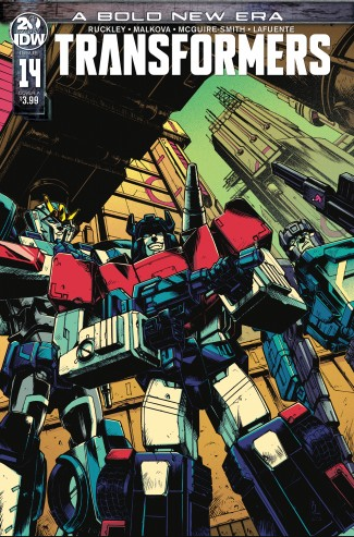 TRANSFORMERS #14 (2019 SERIES)
