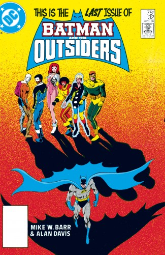 BATMAN AND THE OUTSIDERS VOLUME 3 HARDCOVER