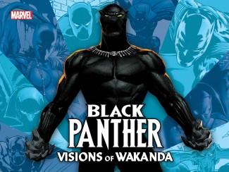 BLACK PANTHER VISIONS OF WAKANDA HARDCOVER