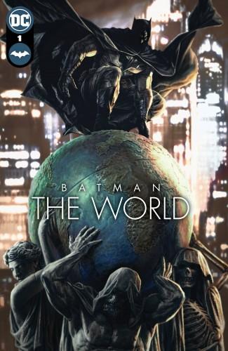 BATMAN THE WORLD HARDCOVER