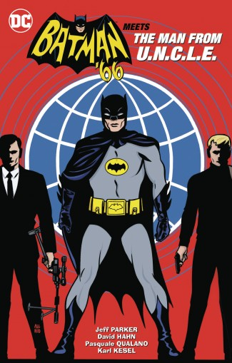BATMAN 66 MEETS THE MAN FROM UNCLE GRAPHIC NOVEL