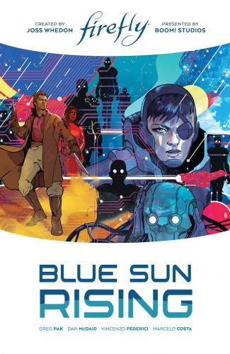 FIREFLY BLUE SUN RISING LIMITED EDITION HARDCOVER