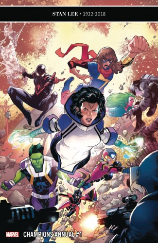 CHAMPIONS ANNUAL #1 (2016 SERIES)