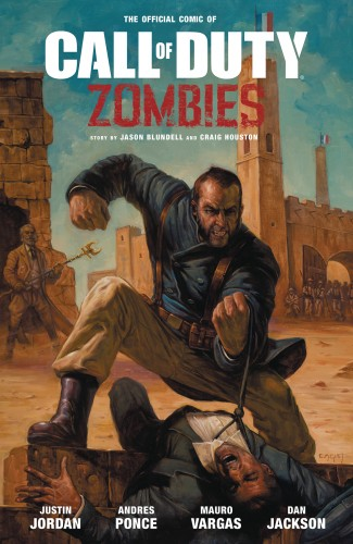 CALL OF DUTY ZOMBIES 2 GRAPHIC NOVEL