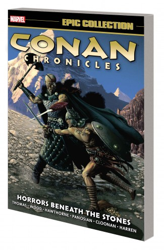 CONAN CHRONICLES EPIC COLLECTION HORRORS BENEATH THE STONES GRAPHIC NOVEL