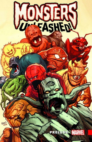 MONSTERS UNLEASHED PRELUDE GRAPHIC NOVEL