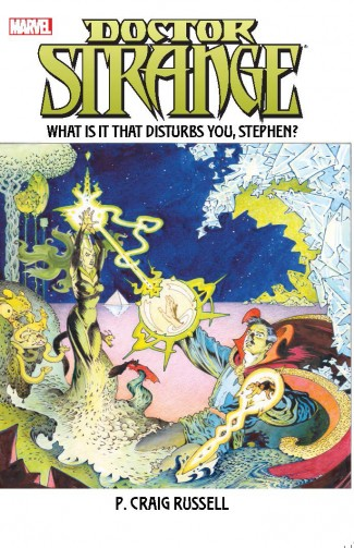 DOCTOR STRANGE WHAT IS IT THAT DISTURBS YOU STEPHEN GRAPHIC NOVEL