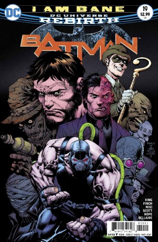 BATMAN #19 (2016 SERIES)