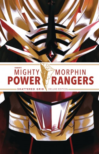 MIGHTY MORPHIN POWER RANGERS DELUXE EDITION SHATTERED GRID HARDCOVER