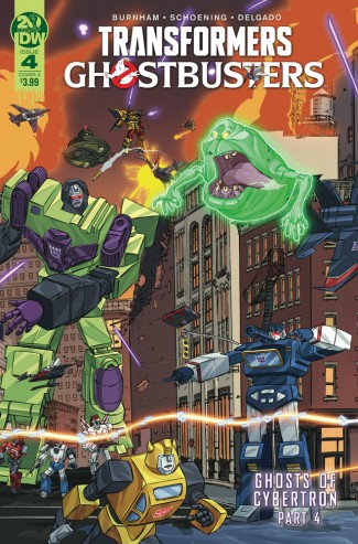 TRANSFORMERS GHOSTBUSTERS #4