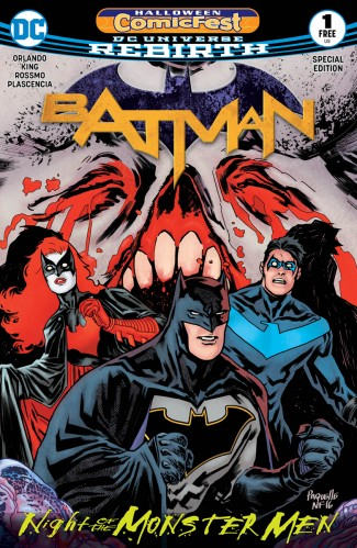 HCF 2017 BATMAN NIGHT OF THE MONSTER MEN SPECIAL EDITION