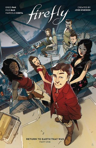 FIREFLY RETURN TO EARTH THAT WAS VOLUME 1 HARDCOVER