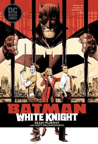 BATMAN WHITE KNIGHT HARDCOVER