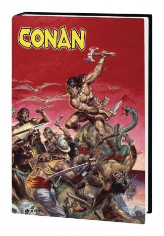 THE MARVEL ART OF SAVAGE SWORD OF CONAN HARDCOVER