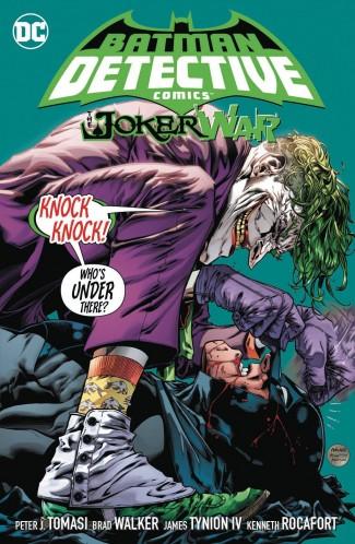 BATMAN DETECTIVE COMICS VOLUME 5 THE JOKER WAR HARDCOVER