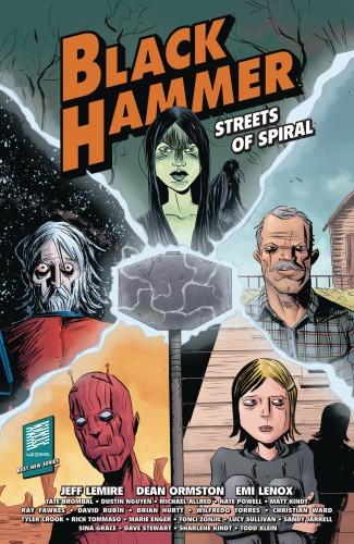 BLACK HAMMER STREETS OF SPIRAL GRAPHIC NOVEL
