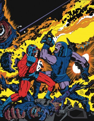ABSOLUTE FOURTH WORLD BY JACK KIRBY VOLUME 1 HARDCOVER