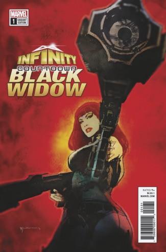 INFINITY COUNTDOWN BLACK WIDOW #1 SEINKIEWICZ VARIANT