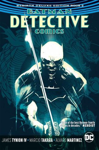BATMAN DETECTIVE COMICS REBIRTH DELUXE COLLECTION BOOK 2 HARDCOVER