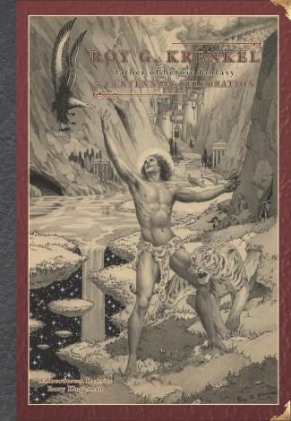 ART OF ROY G KRENKEL FATHER OF HEROIC FANTASY HARDCOVER