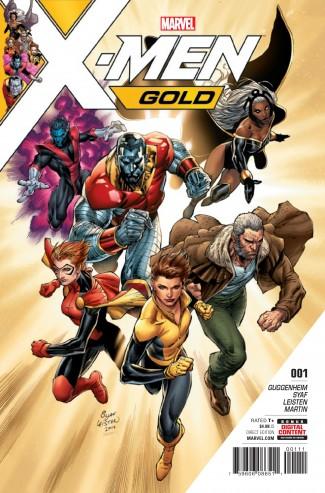 X-MEN GOLD #1 (1st PRINT)