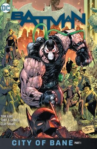 BATMAN BOOK 12 CITY OF BANE PART ONE HARDCOVER