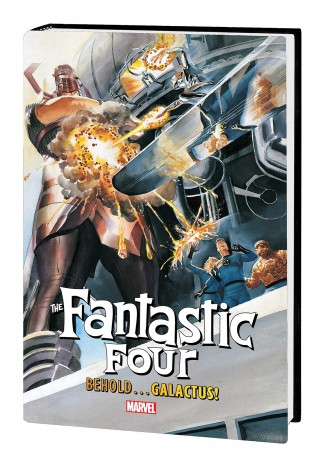 FANTASTIC FOUR BEHOLD GALACTUS MARVEL SELECT HARDCOVER