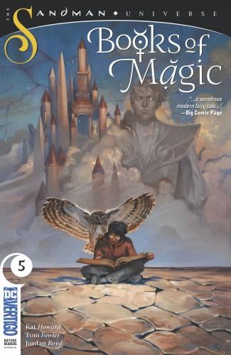 BOOKS OF MAGIC #5 (2018 SERIES)