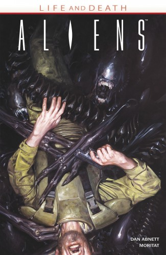 ALIENS LIFE AND DEATH GRAPHIC NOVEL