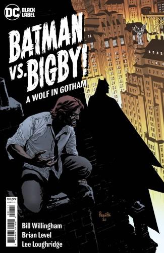 BATMAN VS BIGBY A WOLF IN GOTHAM #1