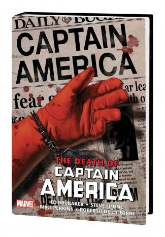 CAPTAIN AMERICA OMNIBUS THE DEATH OF CAPTAIN AMERICA HARDCOVER