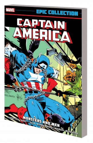 CAPTAIN AMERICA EPIC COLLECTION MONSTERS AND MEN GRAPHIC NOVEL