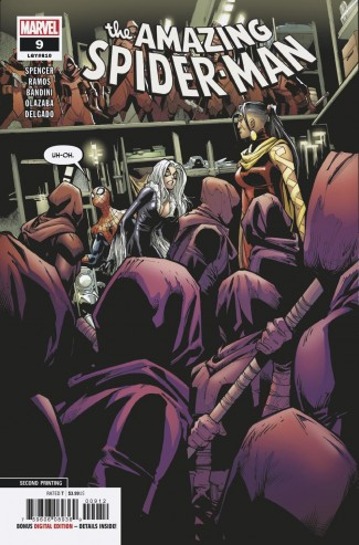 AMAZING SPIDER-MAN #9 (2018 SERIES) 2ND PRINTING