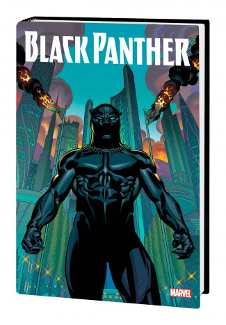 BLACK PANTHER BY TA-NEHISI COATES OMNIBUS HARDCOVER BRIAN STELFREEZE COVER