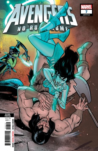 AVENGERS NO ROAD HOME #7 2ND PRINTING