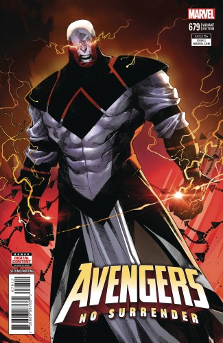 AVENGERS #679 (2016 SERIES) 2ND PRINTING