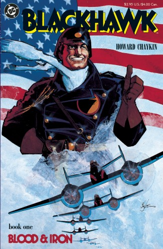 BLACKHAWK BLOOD AND IRON HARDCOVER